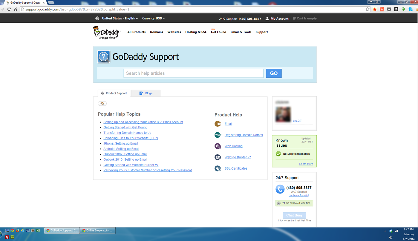 Godaddy Quietly Ends Email Support - Review Of New Live Chat ...